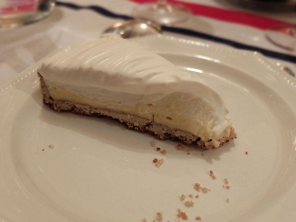recette tarte à la crème de benoit castel