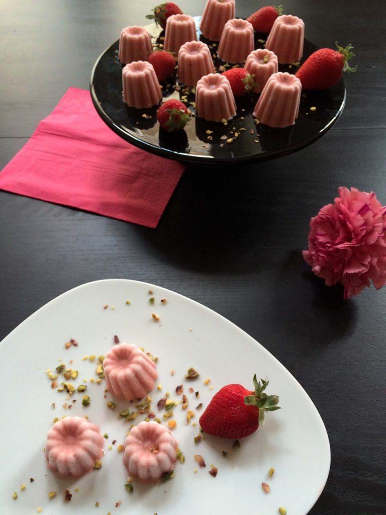 kulfi fraise pistache cardamome