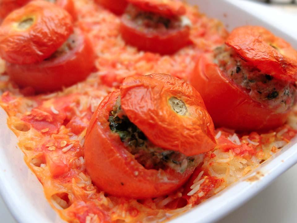 tomates farcies pesto