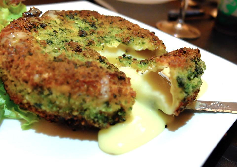 camembert pané herbes