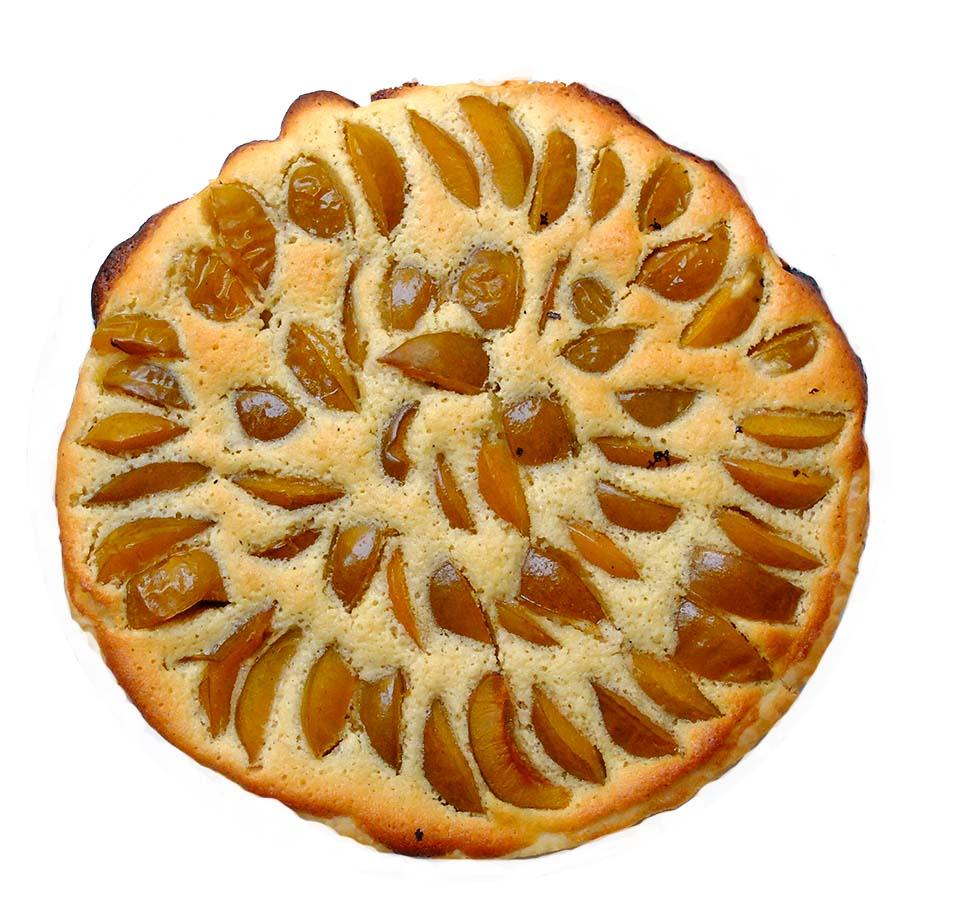 tarte prunes amande