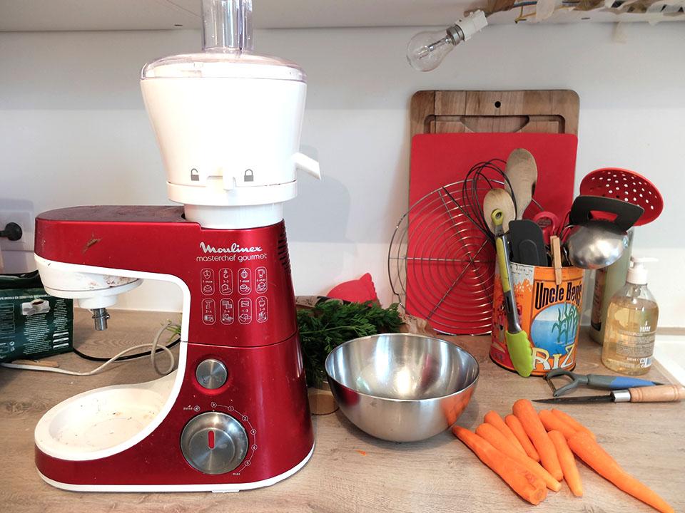 centrifugeuse carottes